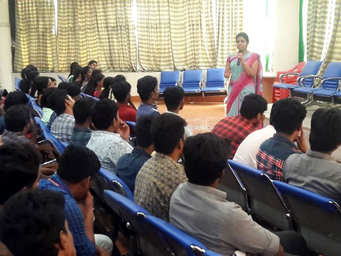 "Guest Lecture on ""BE Yourself"", organised by Dept of ECE, on 30 Aug 2019"
