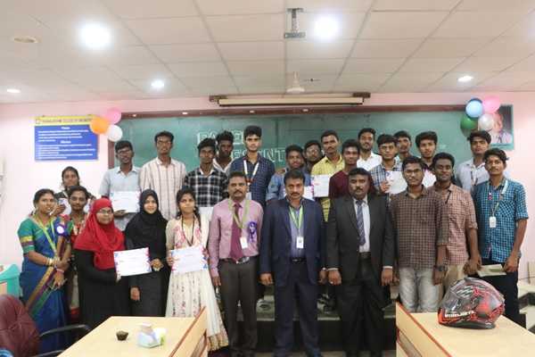 "National Level Technical Symposium on ""CAPTCHA 2K19"", organised by Dept of CSE, 30 Aug 2019"
