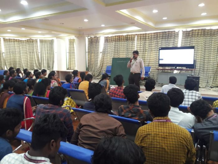 "Guest Lecture on ""Digital Signal Processing and its Applications"", organized by Dept of ECE, on 12 Sep 2019"