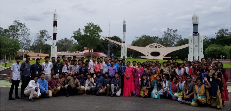 Industrial Visit to ISRO, on 05 Aug 2019