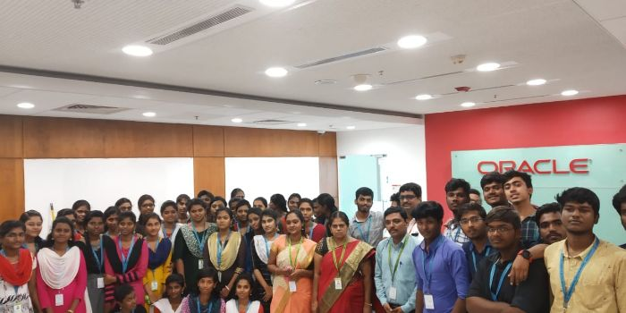 Industrial Visit to Oracle Pvt. Ltd, on 19 Oct 2019