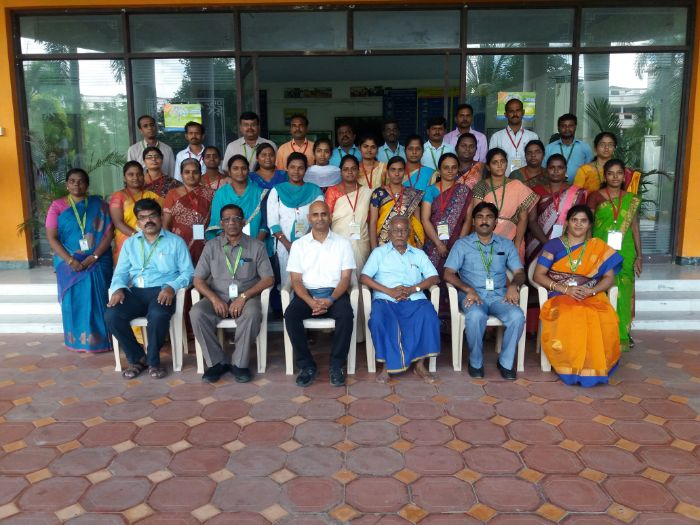 "AICTE Sponsored Two Week Faculty Development Programme on<br> ""Emerging Technology in Wireless Communication and Networks with Hands on Training in Advanced Simulators"" organized by Dept. of Electronics and Communication Engineering, on 19 Nov - 2 Dec 2019"