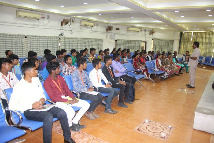 Guest Lecture - Internet of Things (IoT), organized by Dept of ECE, on 24 Jul 2019
