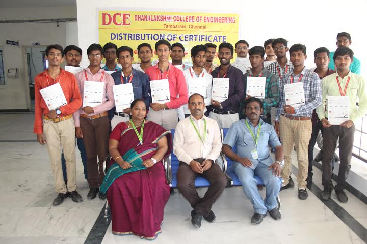 Our Students received GETS Certificates